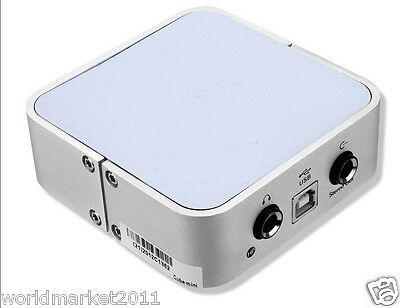 #4 New Silver Stereo Sound Quality Full Stable Performance USB Sound Card