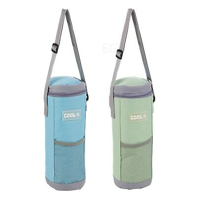 Insulated Thermal Cooler Cool Bag Lunch Bottle Cans Ice Camping Shoulder Strap