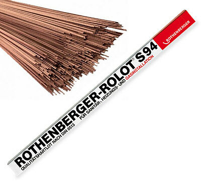 Rothenberger S94 Soldering Rods - 1 Kilo