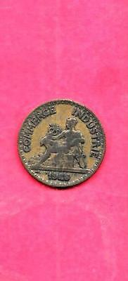 France French Km884 1928 Vf-Very Fine-Nice Old Vintage 50 Centimes Coin