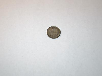 1920 CANADA FIVE 5 CENT Nickel Half Dime CANADIAN Silver Coin