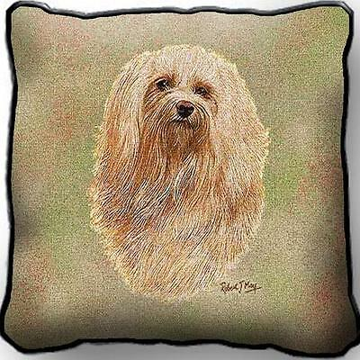"17"" x 17"" Pillow - Havanese by Robert May 3306"