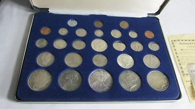 US Coins of the 20th Century Type Set 90% Silver Coins and other Coin GREAT LOOK