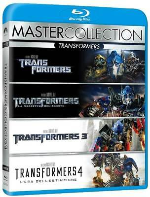 Transformers 1-4 - Quadrologie Box 1 2 3 4  BLU-RAY - NEU - DEUTSCH