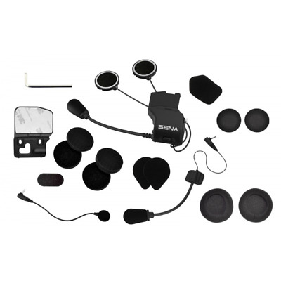 RXUS Audio Kit Sena 20S microphone and earphones to the helmet spare