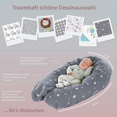 Theraline Nursing Pillow Original 190 cm with Pillowcase Cotton or without Cover