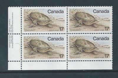 Canada #813iii LL PL BL Red Worm on N Variety MNH **Free Shipping**