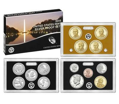 2015 S US Mint Silver Proof 14 Coin Set (SW2)