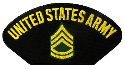 "ARMY SERGEANT FIRST CLASS VIETNAM VETERAN 4/"" EMBROIDERED MILITARY PATCH"