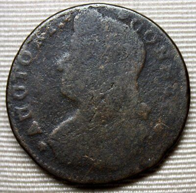 178? CONNECTICUT Colonial Copper Coin * Bust Facing Left * FREE SHIPPING
