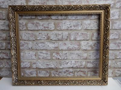 "VINTAGE old picture frame fits a 20 inch X 16"" painting"