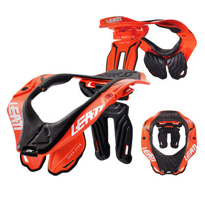 Leatt Brace GPX 5.5 Nackenschutz orange Motocross Enduro MX Neck Guard Gr. S-M