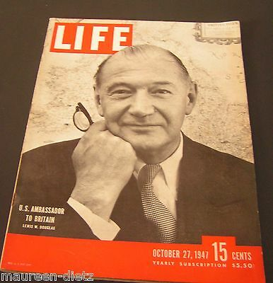 October 27, 1947 LIFE Magazine Old 40s adds ad ads FREE SHIPPING Oct 10 47 28 29