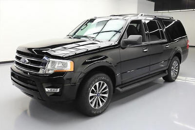 2017 Ford Expedition EL King Ranch Sport Utility 4-Door 2017 FORD EXPEDITION EL XLT ECOBOOST 8PASS REAR CAM 49K #A11866 Texas Direct