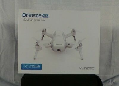 YUNEEC YUNFCAUS Breeze 4K Quadcopter w/ Ultra High Definition 4K - White
