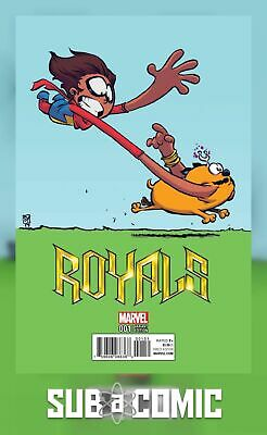 ROYALS #1 YOUNG VARIANT (MARVEL 2017 1st Print) COMIC