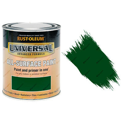 Rust-Oleum Universal All-Surface Self Primer Paint Gloss Racing Green 750ml