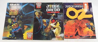 JUDGE DREDD: TOP DOG, JUDGEMENT ON GOTHAM & THE COMPLETE OZ Graphic Novels - S86