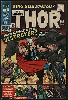 Thor Annual #2 From 1966 New Destroyer Story Plus Classic Jack Kirby Reprints