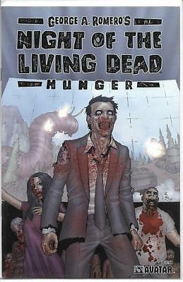Night of the Living Dead Hunger One Shot Avatar Press Comics 2007 NM