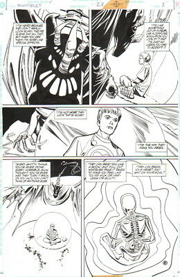 1996 Grant Morrison Invisibles Art-Jack Frost, King Of All Tears-Steve Yeowell!