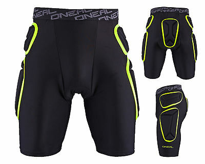 Oneal Trail PROTEKTOR Trousers Black Neon DOWNHILL MX ENDURO Protective Pants