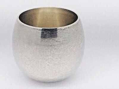 TIFFANY & Co. Makers Sterling Silver Shot Glass 1940's