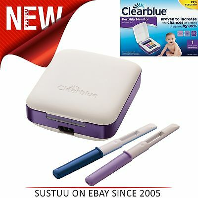 Clearblue Advanced Fertility Monitor│Intuitive Touch Screen│Home Pregnancy Test│