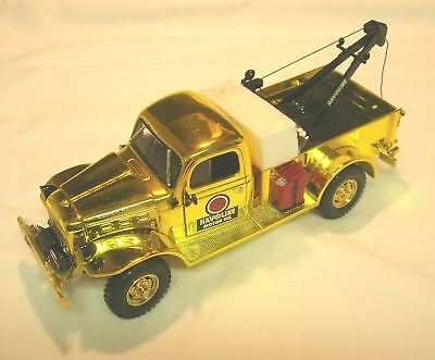 1St In Series Texaco Havoline Dodge Tow Truck Special Yellow Chrome Edition!
