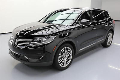 2017 Lincoln MKX Reserve Sport Utility 4-Door 2017 LINCOLN MKX RESERVE PANO NAV CLIMATE LEATHER 16K #L18588 Texas Direct Auto