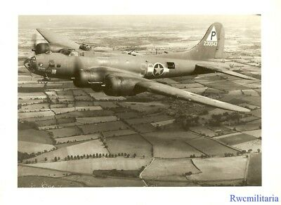 "Org. Nose Art Photo: B-17 Bomber ""RUTHLESS"" (#42-30043; shot down 1943)!!!"
