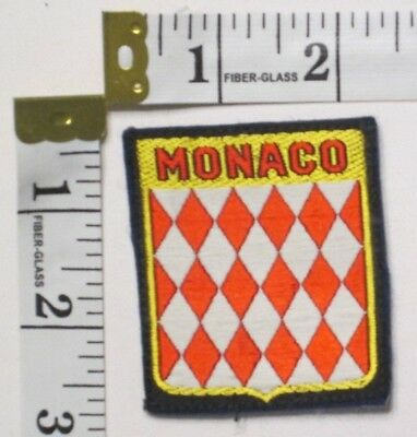Monaco Souvenir Patch