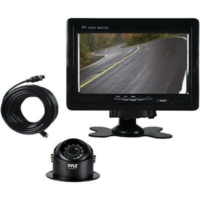 "Pyle PLCMTR70 Rearview Backup Camera & Video Monitor System Kit, 7"" Display"