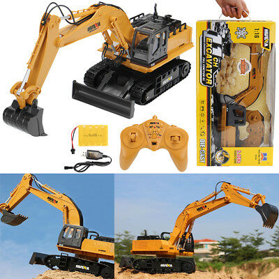 Remote Control Tractor Model Car Construction Crawler Vehicle Digger Toy Gift