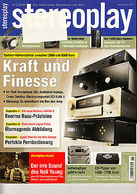 Stereopl.11/10 Audio Research Reference Anniversary,Audiomat Arpege Reference 10