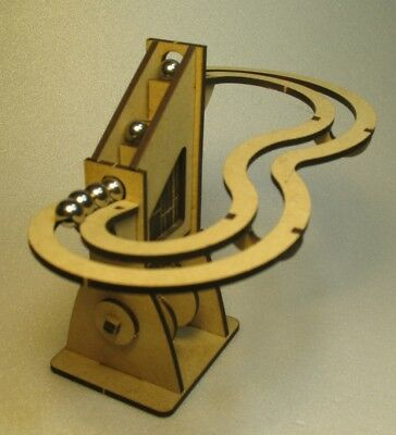 Special Occasion, Birthday, Executive Gift - Hand Cranked Simple Marble Machine