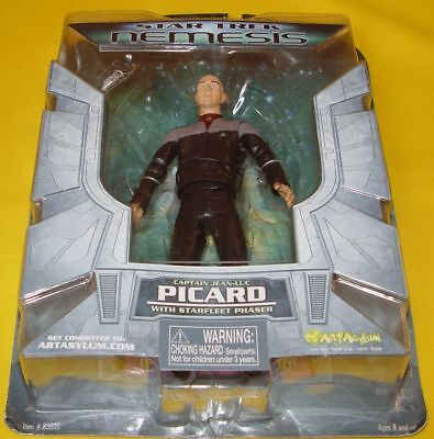 Star Trek Art Asylum / Diamond Select Toys - Nemesis Captain Jean-Luc Picard
