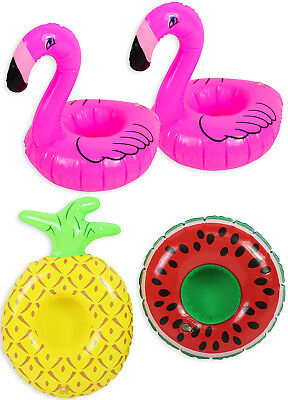 Inflatable Drinks Holder Cup Holder Swimming Pool Summer Can Holder Outdoor