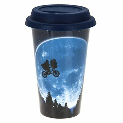 Official Retro E.T. Movie Design All Over Print Ceramic Travel Coffee Mug