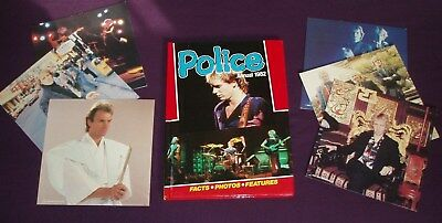 The Police - Sting, Summers, Copeland - Annual 1982 + Pictures