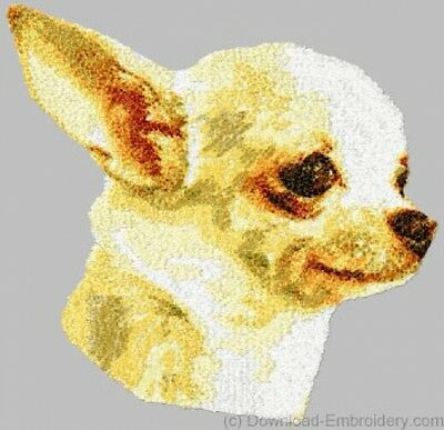 Embroidered Sweatshirt - Chihuahua DLE1508 Sizes S - XXL