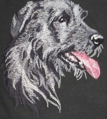 Embroidered Sweatshirt - Irish Wolfhound BT3590  Sizes S - XXL