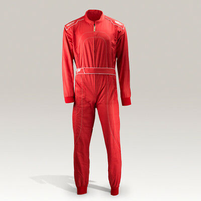 Speed Kart Overall Rot  Daytona HS-1 - Hobby Kartoverall, Racing Suit Red,