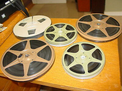 Super 8mm VINTAGE FAMILY FILM, 1500 Feet.in metal containers