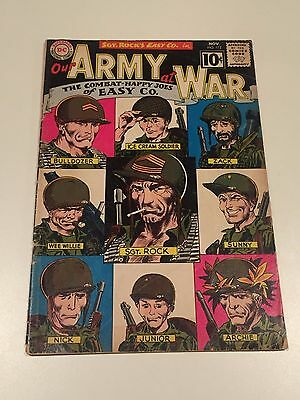 Our Army at War #112 VG Condition Comic Book