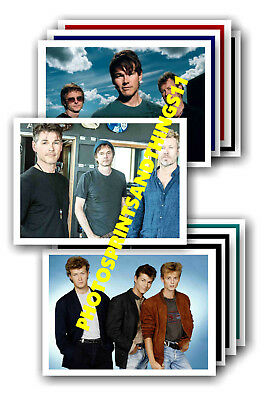 A-Ha  - 10 promotional posters - collectable postcard set # 4