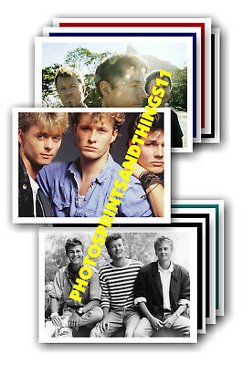 A-Ha  - 10 promotional posters - collectable postcard set # 5