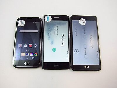 Lot of 3 Assorted Phones Mixed Carrier Check IMEI PR