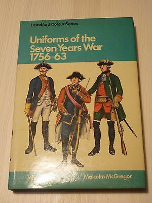 RARITÄT Uniforms of the Seven Years War 1756 - 63 John Mollo Malcom McGregor