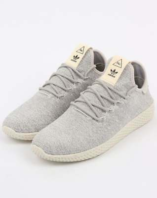 separation shoes 6822c a4675 Adidas PW Tennis HU Trainers in Grey   White - Pharrell Williams Human Race  SALE